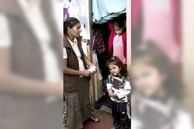 Sarkozy gegen die Roma