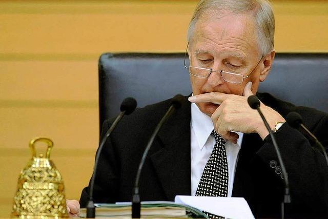 Landtagspräsident boykottiert Reform
