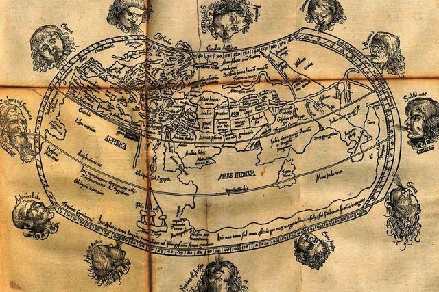 Wertvolle Weltkarte von 1503 ist zurück in St. Peter