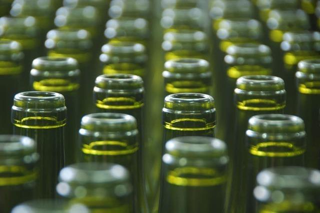 Südglas hat 2009 über 20 Millionen Weinflaschen gespült