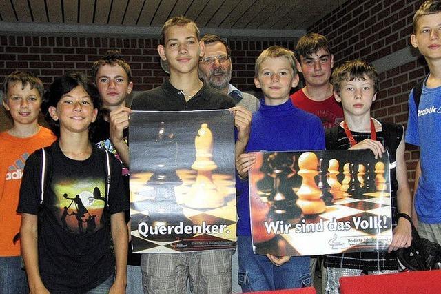 51 Schüler kämpfen um die Schachmeistertitel