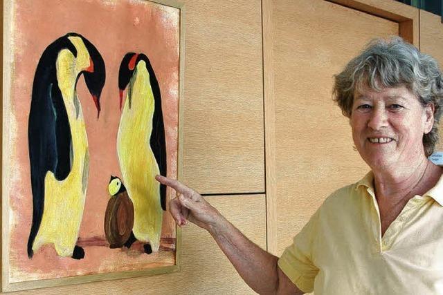 Pinguine sind auch fast Menschen