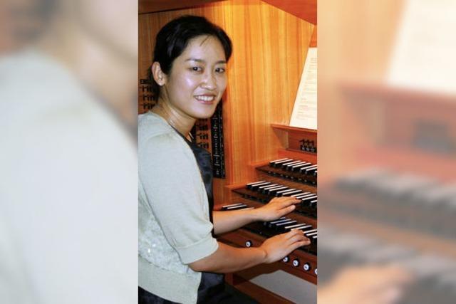 Musikalische Kostbarkeiten an der Tzschöckel-Orgel