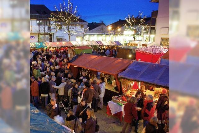 Weihnachtsmarkt in einer Halle?