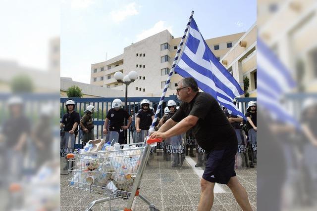 Kein Benzin mehr in Griechenland