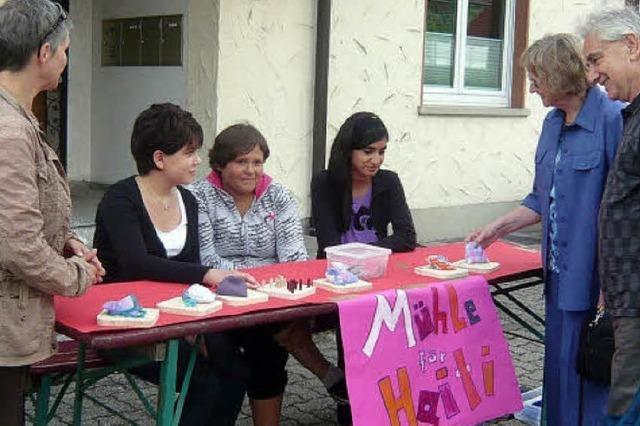 Schüler realisieren Projekt und helfen auch Haiti