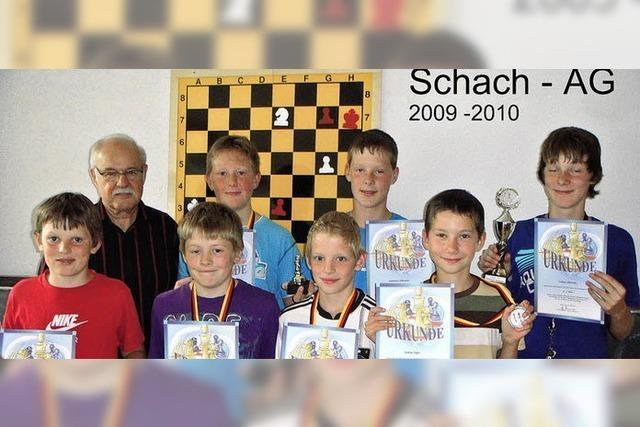 Schach-AG hat sich gut entwickelt