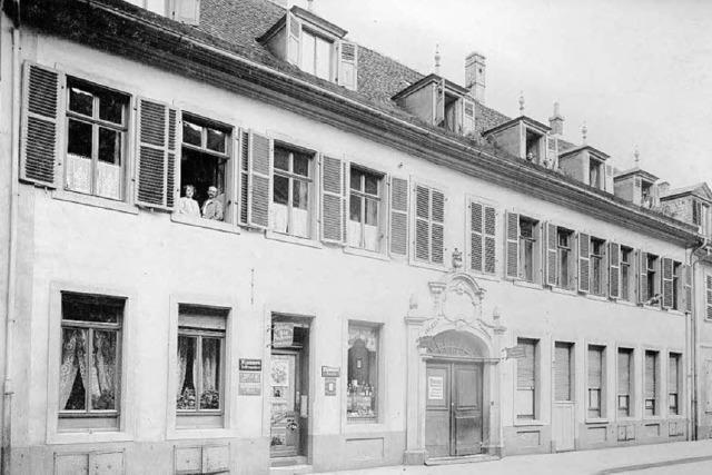 Wo die Webers in Mannheim wohnten