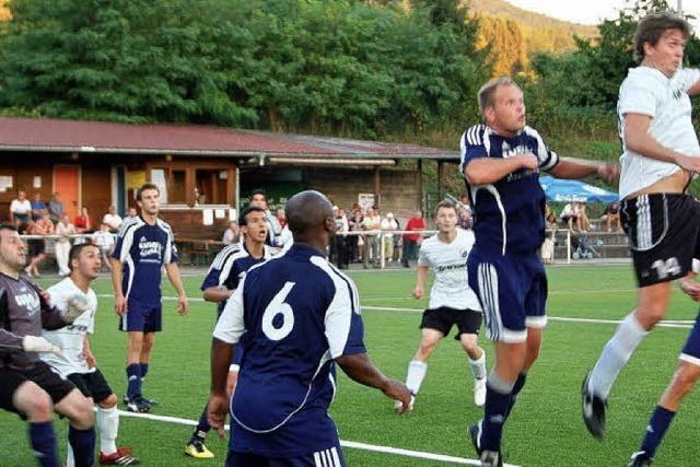 Zufriedenheit beim FC Wehr