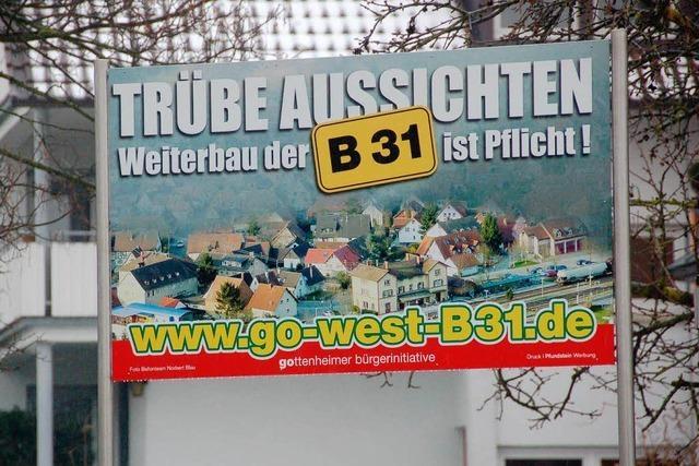 Stadt fordert Weiterbau der B 31 West von Breisach aus