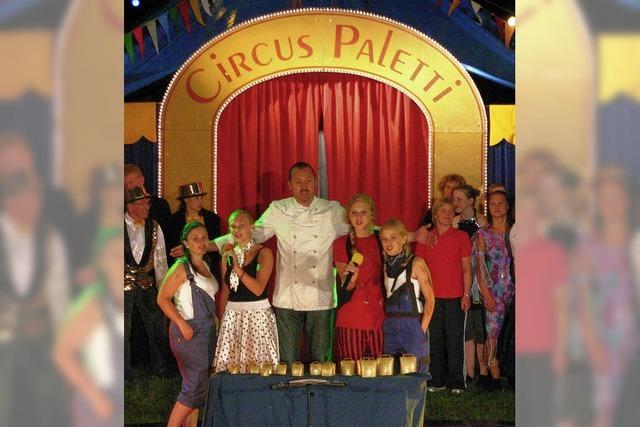 Eine große Zirkus-Familie