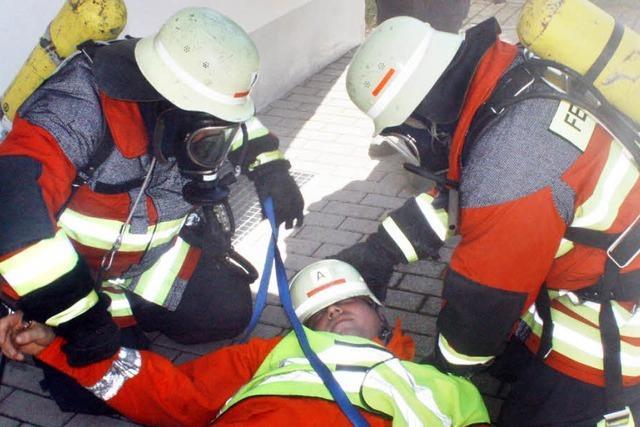Feuerwehr Hottingen ist für den Notfall gerüstet