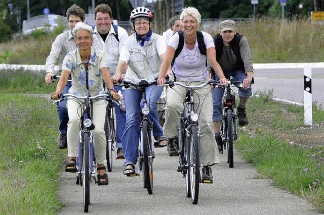 Radtour für den Tourismus