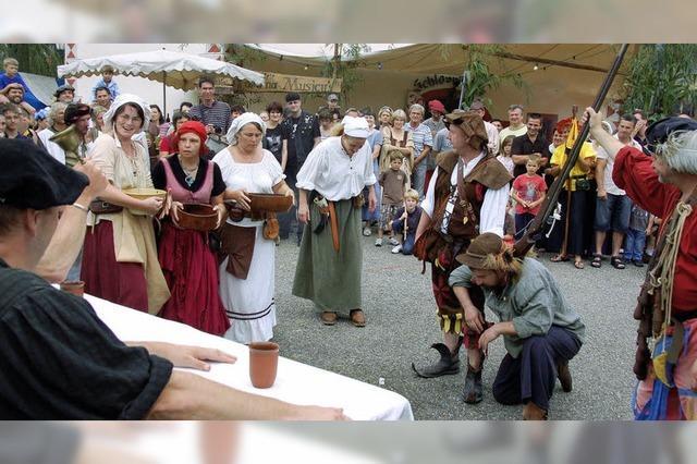 Rittersleut', Gaukler und Musikanten