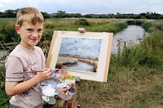 Der kleine Picasso aus Norfolk