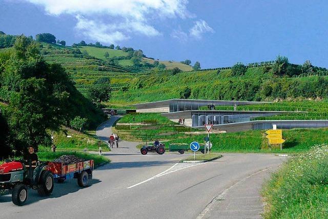 Fritz Keller baut in Oberbergen ein neues Weingut
