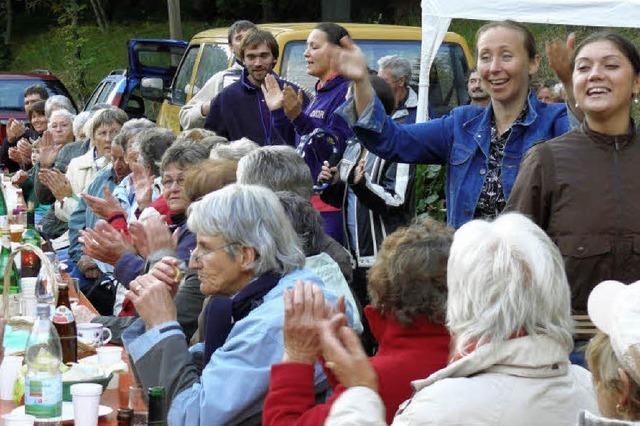 Orthodoxe Kirchenmusik umrahmt Feier