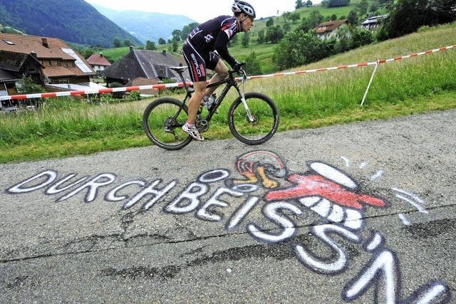 Gipfelfahrt beim Trans-Schwarzwald