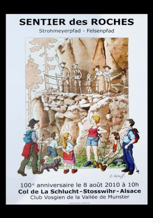 Das Plakat zum Jubiläum     Foto: Martin Graff