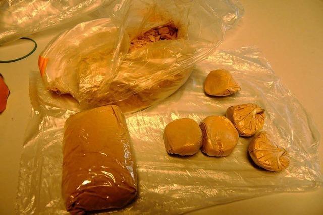 Lahrer Polizei findet 175 Gramm Heroin im Bad