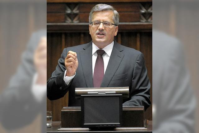 Polen: Schwerer Start für den Präsidenten