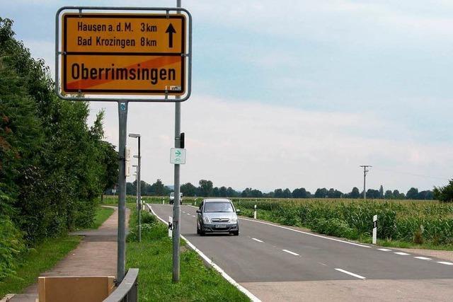 Marode Kreisstraße zwischen B 31 und Oberrimsingen ist saniert
