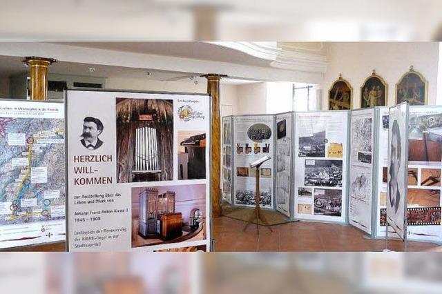 Wissenswertes über Orgel- und Zeitgeschichte