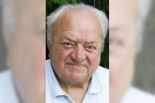 Eduard Reichel feierte seinen 90. Geburtstag