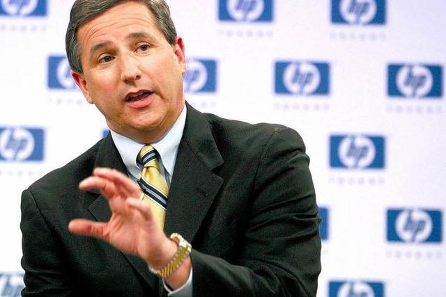 HP-Chef Hurd liebte kopflos und verliert den Job
