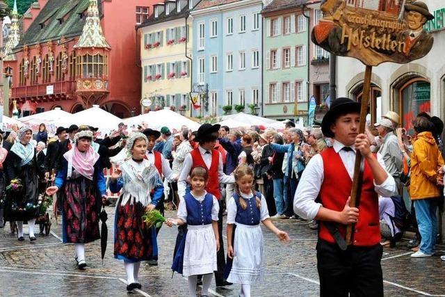 Deutscher Wandertag bringt 30.000 Menschen auf die Beine