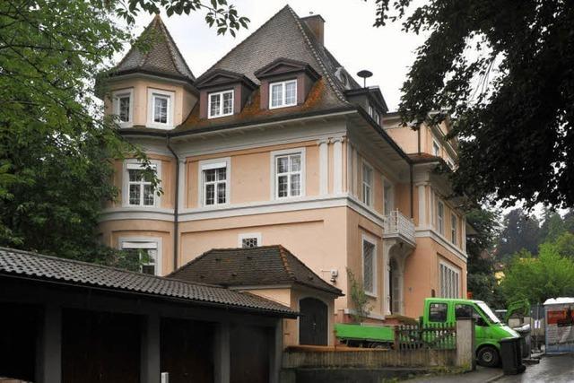 Villa mit wechselvoller Geschichte