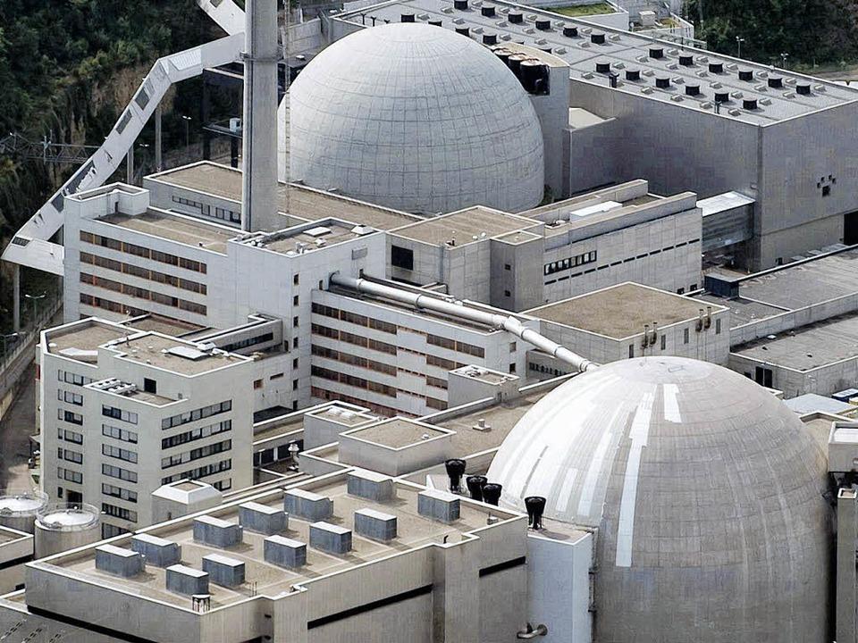 Block I des Kernkraftwerks Neckarwesth...tlich noch dieses Jahr vom Netz gehen     Foto: ddp