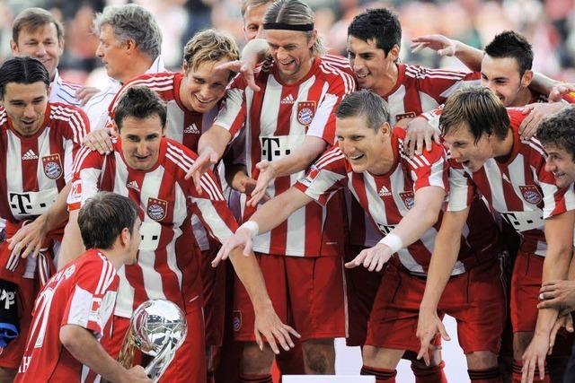 Wer gewinnt? Die Bayern