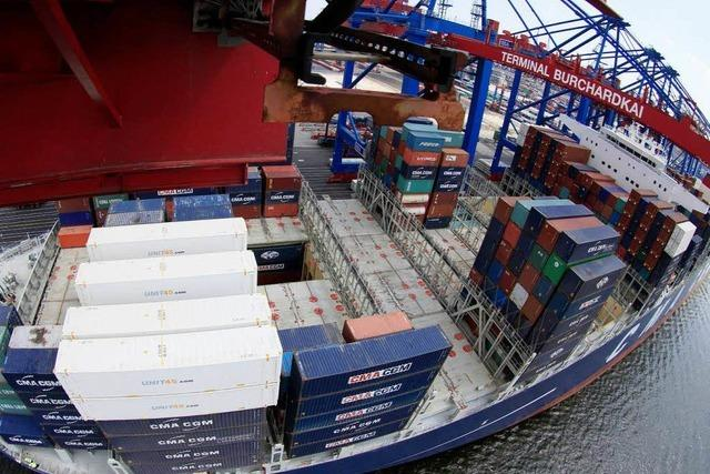 Deutschlands Exportmotor brummt, Rekord bei den Importen