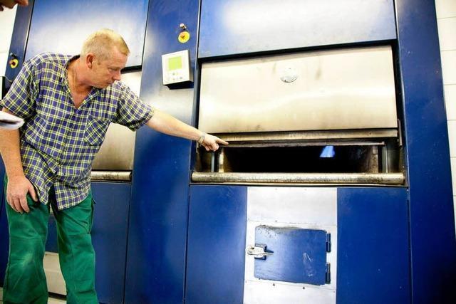 Extreme Berufe: So arbeitet ein Kremationstechniker in Freiburg