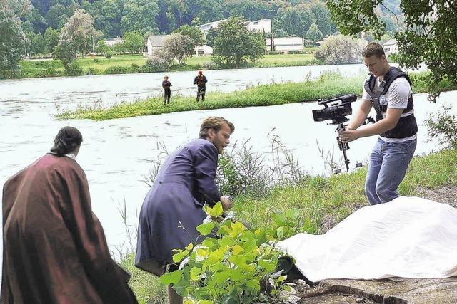 Flucht zweier Liebender und ein Sprung in den Rhein