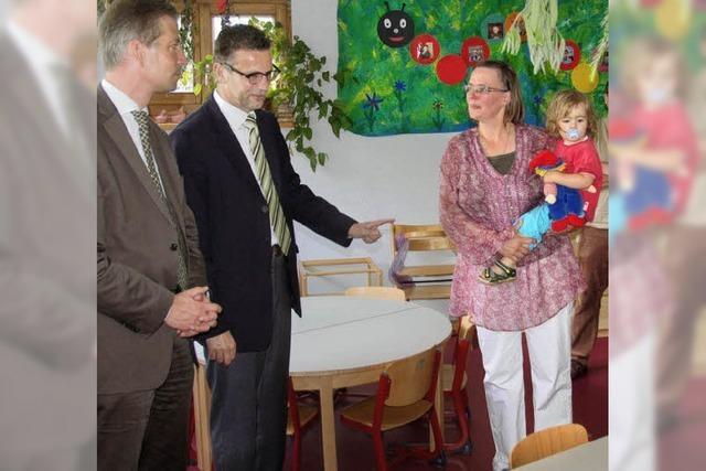 Auf leisen Sohlen durchs Kinderhaus