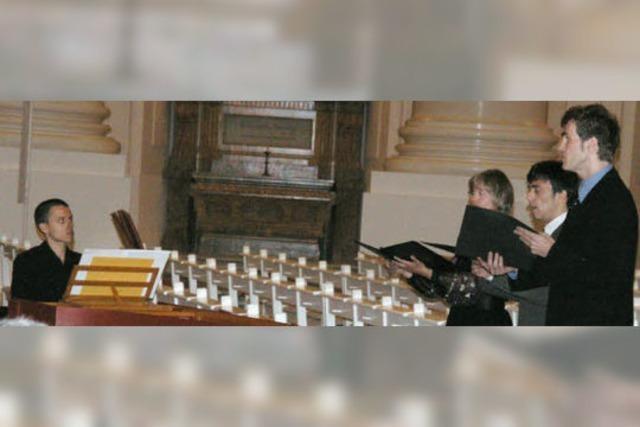 Musik aus dem Zentrum des Kuppelbaus bei den Domkonzerten