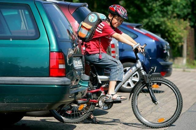 Weniger Fahrradunfälle im Südwesten