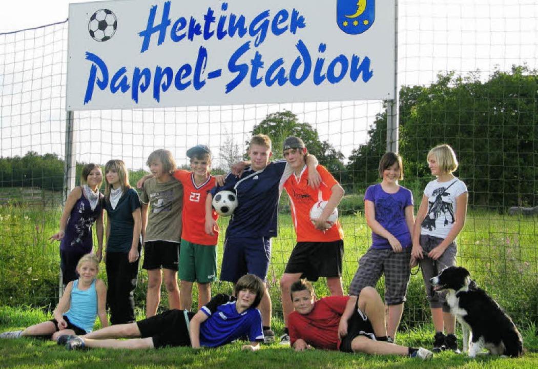 Hertinger Pappel-Stadion  | Foto: Jutta Schütz