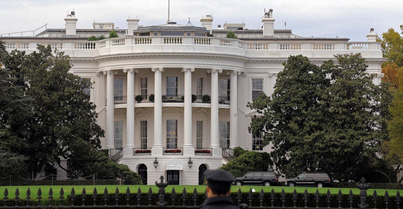 Erste Adresse: Das Weiße Haus an der P... die Schaltzentrale der Weltmacht USA.  | Foto: usage worldwide, Verwendung weltweit