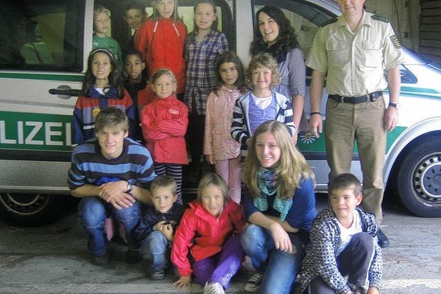 Sommerprogramm: Zwölf Kinder in Polizeiobhut