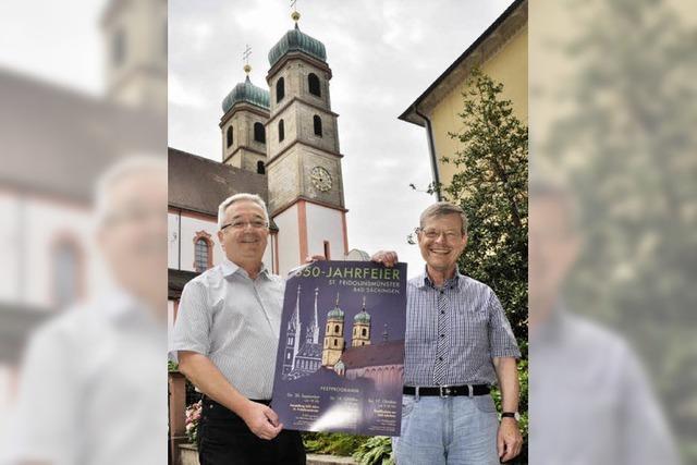 Jubiläum des Fridolinsmünsters: 650-Jahr-Feier mit Prozession