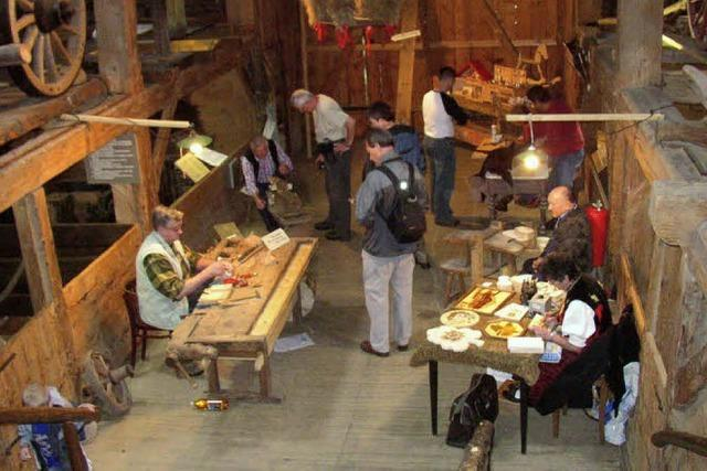 Altes Handwerk und ein Markt regionaler Erzeuger