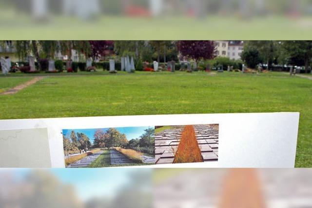 Lörrachs Hauptfriedhof bekommt mehr Urnengräber