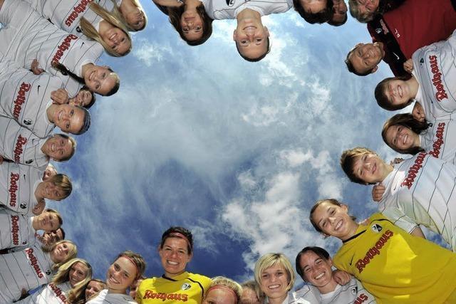 Die Frauen des SC Freiburg wollen zurück in Liga eins