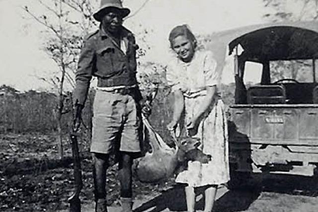 Sie hatte eine Farm in Afrika