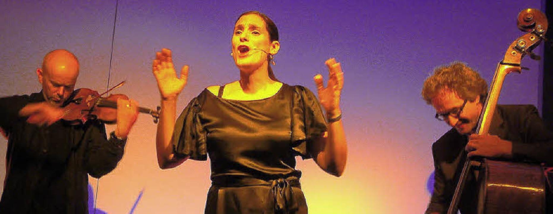 Tango mal aufregend experimentell: Das...kammermusikalisch-jazzigem Einschlag.   | Foto: Roswitha Frey