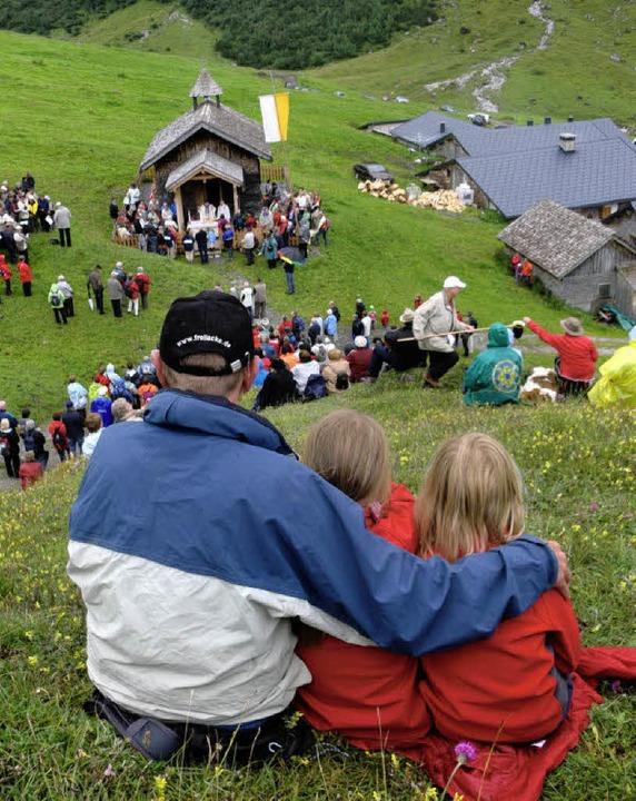 Wallfahrt an die Rote Wand: Das Patron...em Schwarzwald und der Baar gefeiert.   | Foto: Christa Maier