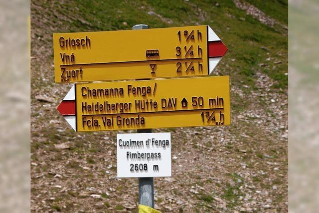 FLUCHTPUNKT: Ein paar Minuten Gipfelglück